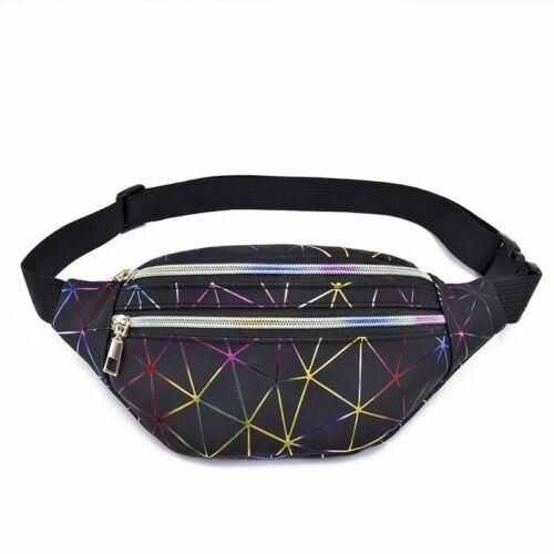 Holographic Waist Bag Fashionable Women Belly Bag Waist Bag Pouch Bag