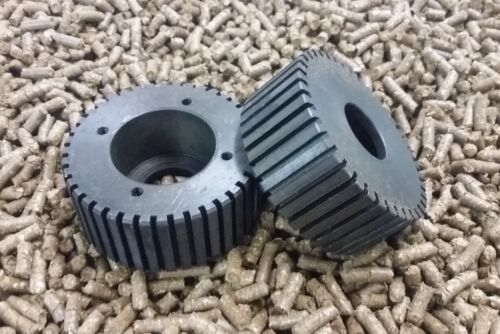 "200mm 8/"" Roller Assembly and Die for Replacement or Homemade Pellet Mill NEW"