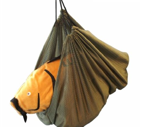 Pêche à peser Sling Carp de pêche avec sac de rangement-L @ @ K Super Doux