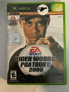 TIGER-WOODS-PGA-TOUR-2005-XBOX-COMPLETE-W-MANUAL-FREE-S-H-T8