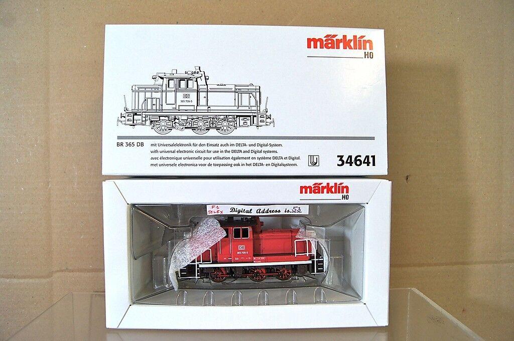 Marklin Märklin 34641 Numérique 6081 Db 0 6 0 Classe Br 365 709-5 Diesel