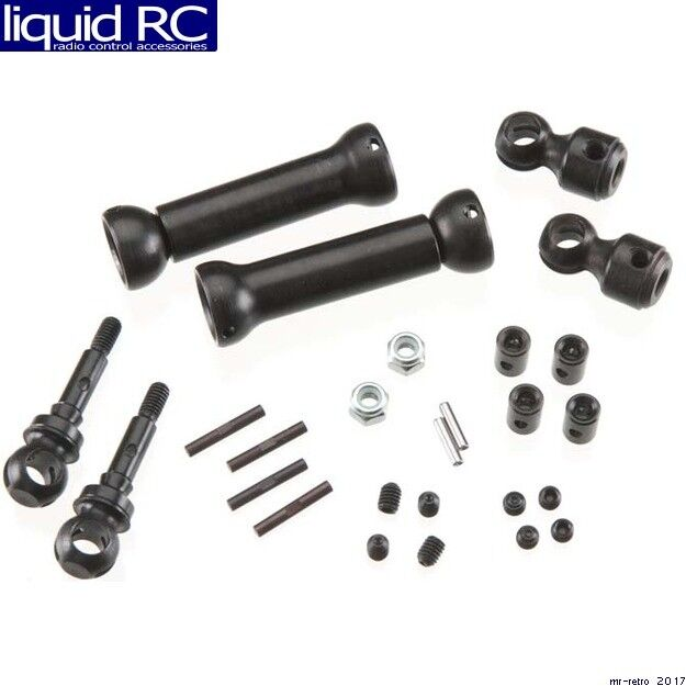 MIP 10132 X-Duty CVD (Tm) Keyed Front Axle Kit Traxxas Slash 4x4