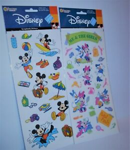 Disney-Sandylion-Mickey-Mouse-Minnie-Daisy-BIG-15-034-Packs-1-Sheet-Each-NEW