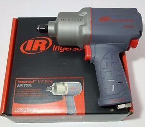 "Ingersoll Rand 2235QTIMAX 1/2"" Quiet Super Duty Titanium Air Impact Wrench"