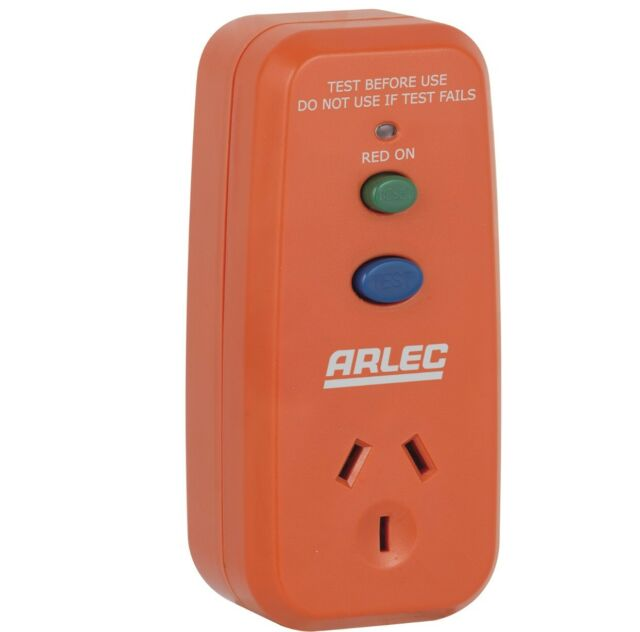 Arlec Single Outlet Safety Switch