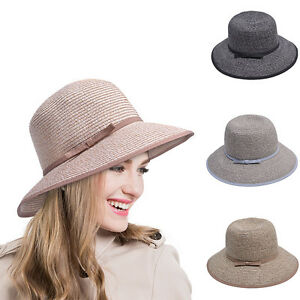 6d03760cf9b Women s Multicolor Woven Straw Face-Saver Hat Dress Tea party With ...