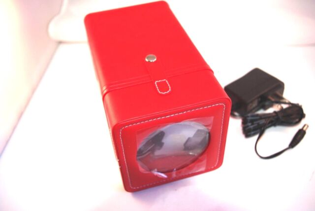 Swiss Legend 12v Travel Watch Winder W Ac Adapter Ebay