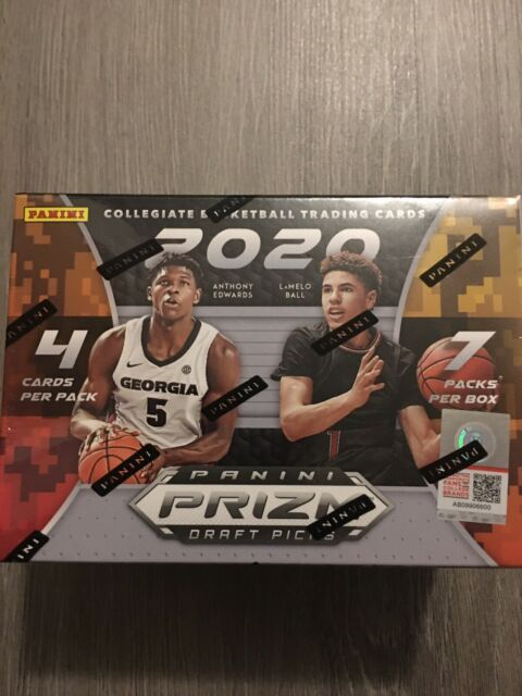 New 2020-21 Panini Prizm Draft Picks Basketball NBA Box Brand Sealed 7 Packs