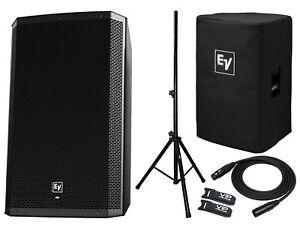 """EV ZLX15BT 15"""" Active DJ 1000W PA Bluetooth Speaker + ZLX ..."""