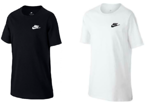 Nike-Garcons-Junior-Enfants-Futura-JDI-ras-du-cou-en-coton-Casual-Sports-T-Shirt-Top-7-14-ans