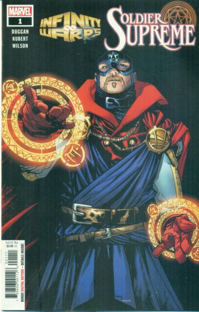 Infinity Wars Soldier Supreme #1 Kubert Captain America Variant A Warps NMM 2018