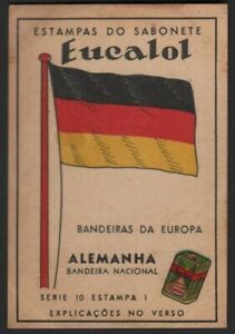 Flag-of-Germany-Alemanha-c1949-Trade-Advertising-Card