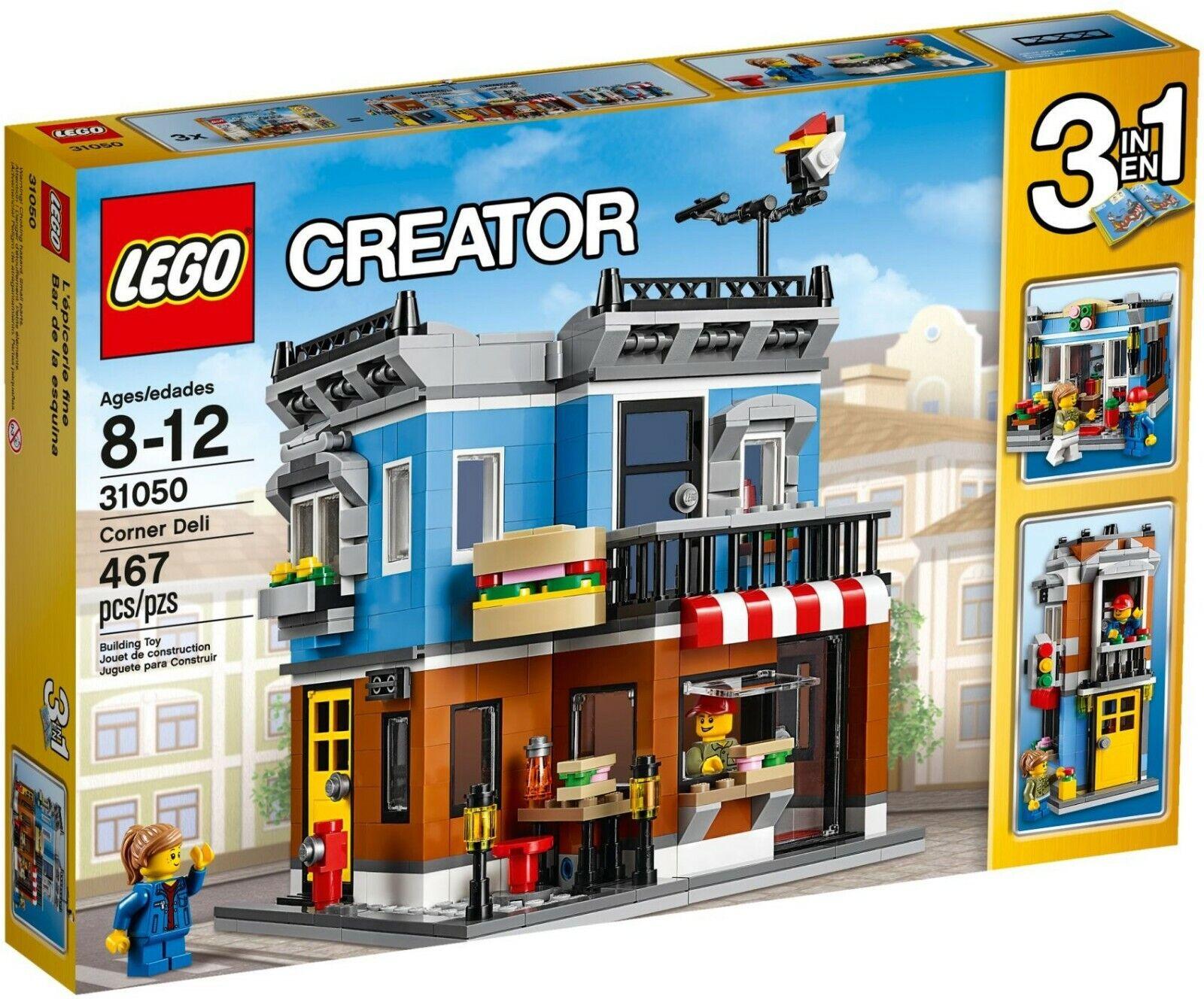 Lego Creator 3in1 esquina Deli ( 31050) (retirado 2016) (muy rara)