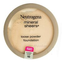 Neutrogena, Mineral Sheers, Loose Powder Foundation ,choose Your Shade