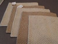 Pottery Barn Woven Metallic Jute 18 Pillow Cover Nla - Choose Color