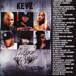Details about DJ KEYZ - THE HITS VOL  8: Ruff Ryders Pt  2 (MIX CD) THE  LOX, DMX, DRAG-ON, EVE