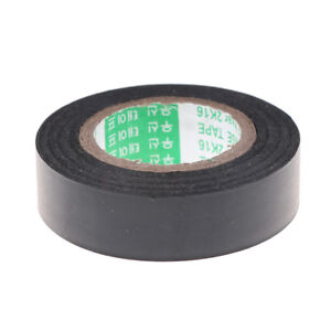 Details about Black PVC Electrical Wire Heat Resistant Vinyl Insulating  Tape Roll 16mm*20m XR