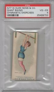 1887-N77-Duke-Cigarettes-Gymnastic-Exercises-Giant-Swing-Graded-PSA-4