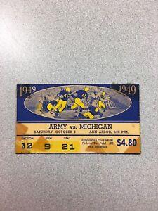 michigan vs army football
