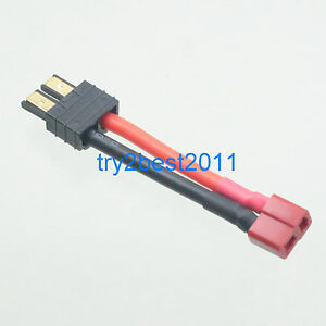 12 Gauge Wire Connectors | Traxxas Style Male To Deans Female 12 Gauge Wire Connector Rc Lipo