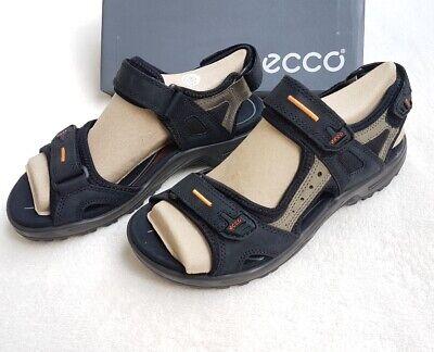 Ecco Mens Trekking outdoorsandalen Size 42 Black Shoes NEW Velcro | eBay