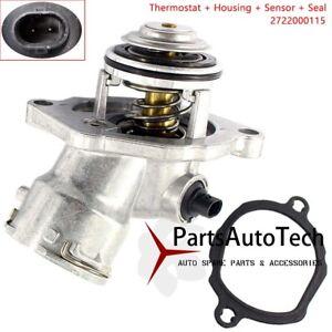 Details about FIT Mercedes Benz M272 Engine C280 C300 Thermostat Sensor &  Gasket New