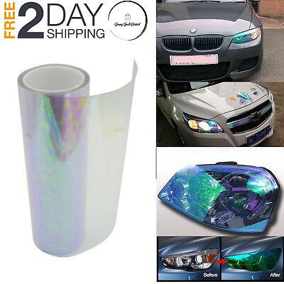 Muhan Self Adhesive Shiny Chameleon Headlights Tint Vinyl Car Light Sticker Tail Lights Fog Lights Films