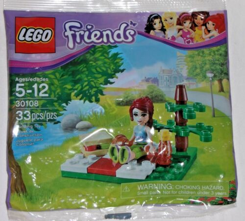 LEGO new sealed PROMO POLYBAG Baggie set 30106 FRIENDS Summer Picnic Mia girl
