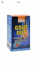 Bio Nutrition Gout Out, 60 Vegetarian Capsules. Fast Free First Class Shipping