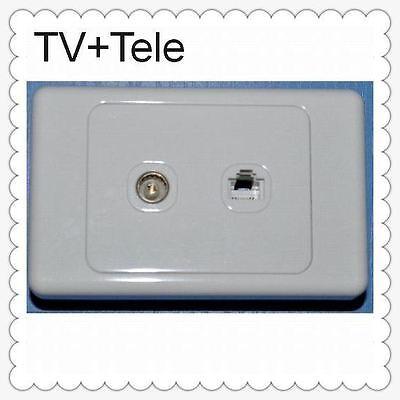 how to install tv antenna wall socket