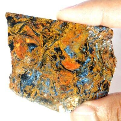 100/% Natural Pietersite Rough Slab Brilliant View Rough Mineral Slab Specimen