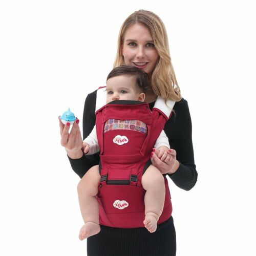 ISEE Baby Carrier All Seasons Cotton 3D Mesh With Hip Seat