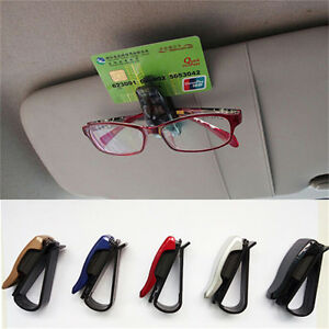 Fashion-Car-Vehicle-Sun-Visor-Sunglasses-Eye-Glasses-Card-Pen-Holder-Clip-Car-E-amp