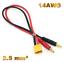 Premium-XT60-Ladekabel-4mm-Bananenstecker-Lipo-Akku-Male-Maennlich-30cm-14AWG-RC Indexbild 1