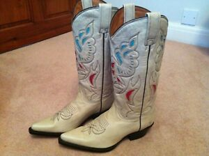 Made In Women's Hand Western Buffalo New Boots Mexico q6Z7EZw