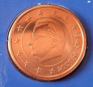 Belgie-2-cent-2000-FDC-UNC