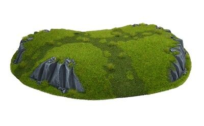 Décor warhammer resin rocky hill medium colline rocheuse Wargame Terrain Scenery