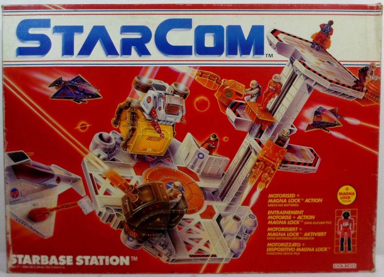 COLECO VTG 1986 stjärnaCOM stjärnaBASE STATION EJ ANVÄND INNEHÅLL EUROPEISKA MIB RARE