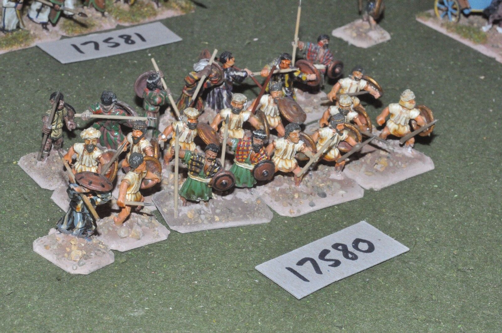 25mm biblical   ancient - javelinmen 22 figures - inf (17580)