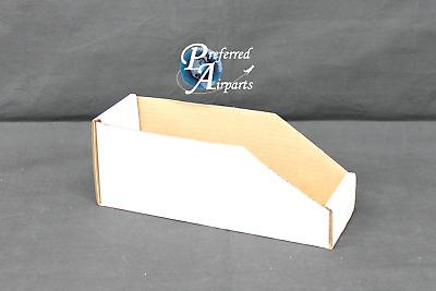 "White Corrugated Parts Bins 12 x 12 x 4-1//2/"" Uline S-707 200 lb Rating 25"