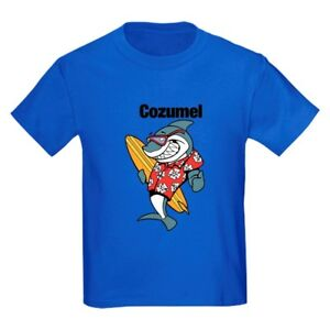 CafePress Cozumel, Mexico T Shirt Kids Cotton T-shirt (1315066712)