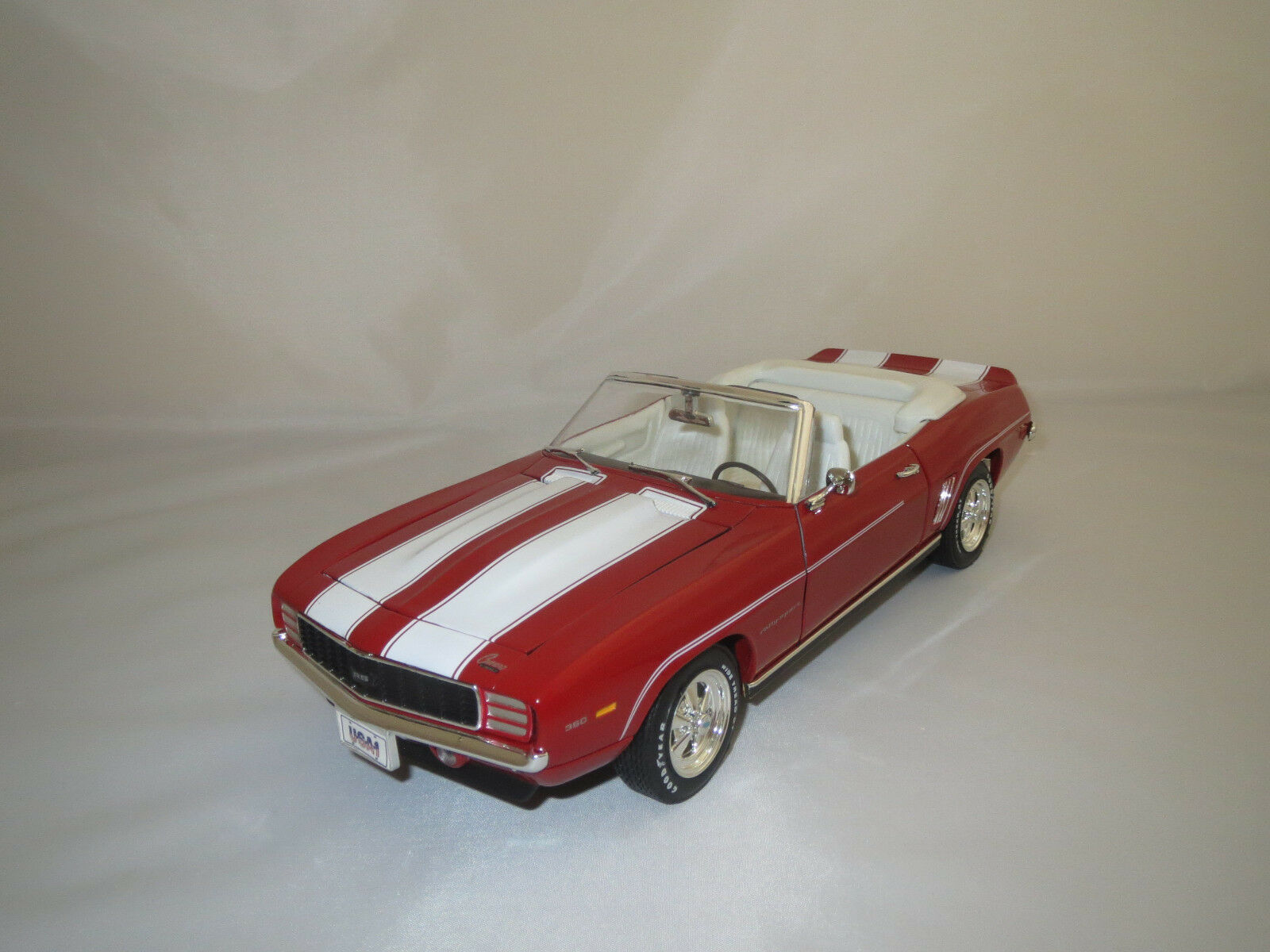 Ertl American Muscle  Chevrolet Camaro Rally-Sport   1969   (rot) 1 18 ohne Vp.
