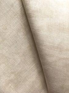 Cream Ivory 32 count Zweigart Belfast Linen fabric 100 x 70 cm