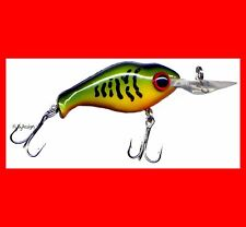 Rattlers Hand Tuned Great for all Fish Hawg Boss Super Toad II Lure Colored