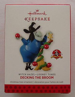 Hallmark 2013 Looney Tunes Witch Hazel Decking Broom Limited Edition Ornament