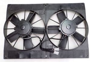 11-034-Dual-Extreme-Electric-High-Performance-Radiator-Cooling-Fan-Twin-HD-Puller