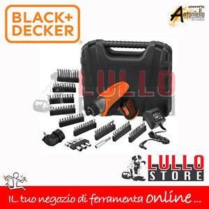 Black decker svita avvita trapano con valigia e 98 for Tavolo lavoro black decker