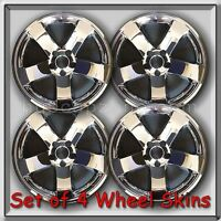 4 Chrome Wheel Skins Hubcaps 2009-2014 18 Dodge Challenger Chrome Wheel Covers