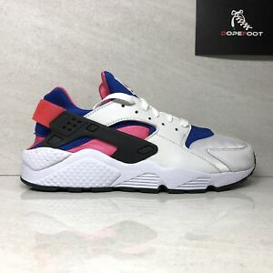 Nike-Air-Huarache-Run-91-QS-AH8049-100-Men-039-s-Size-9-5-Size-11-5-White-Game-Royal