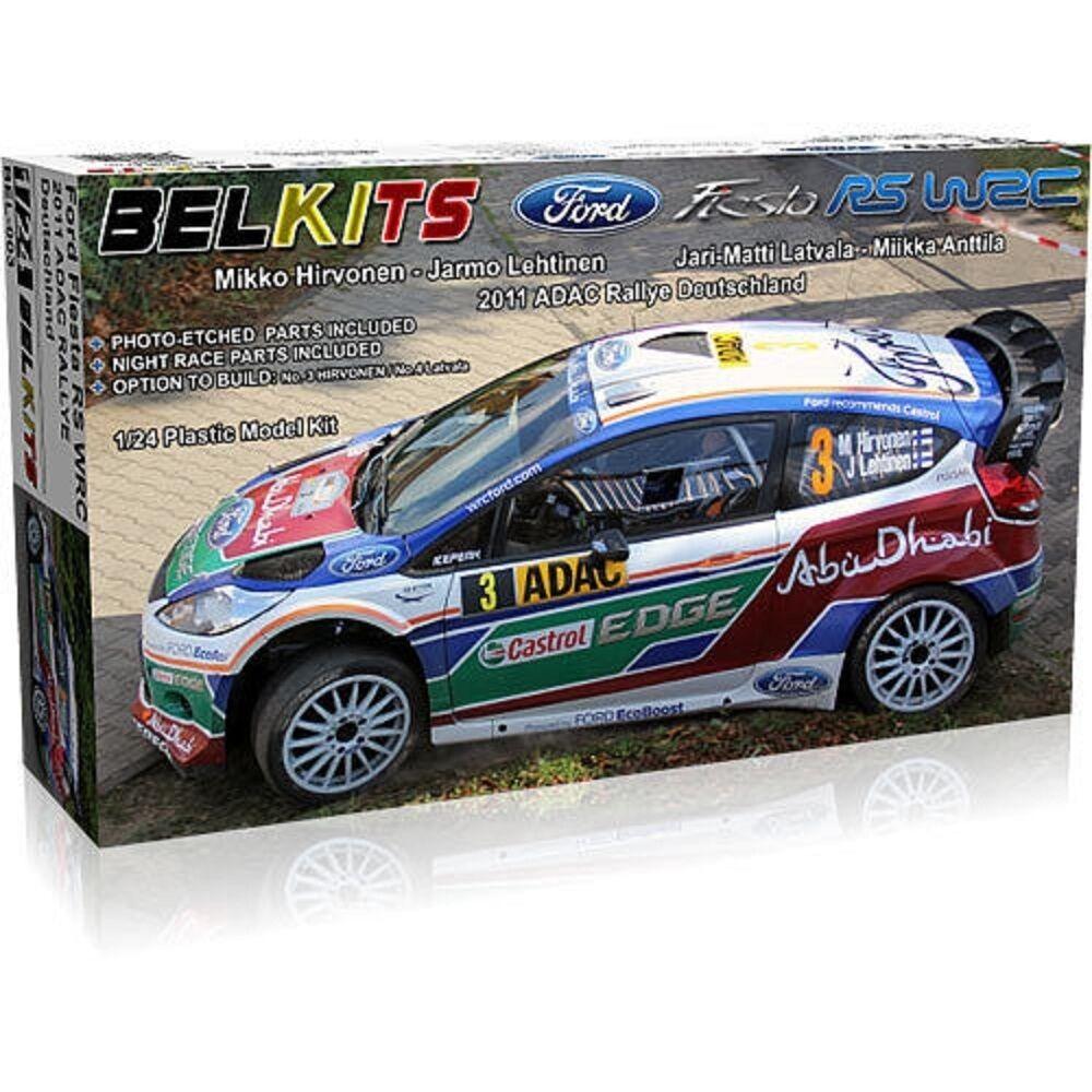 BELKITS FORD FIESTA RS WRC 2011 ADAC RALLYE DEUTSCHLAND 1 24 COD.BEL003